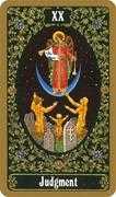 Judgement Tarot card in Russian Tarot deck