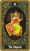The Empress Tarot card in Russian Tarot deck