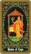Queen of Cups Tarot card in Russian Tarot deck