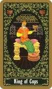 King of Cups Tarot card in Russian Tarot deck