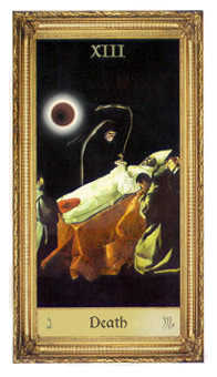 Death Tarot Card - Sacred Art Tarot Deck