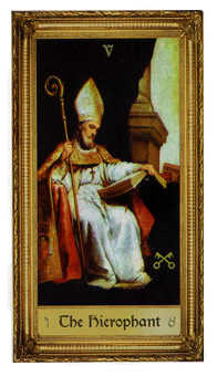 The Pope Tarot Card - Sacred Art Tarot Deck