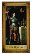The Empress Tarot card in Sacred Art Tarot deck
