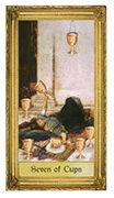 Seven of Cups Tarot card in Sacred Art Tarot deck