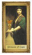 Princess of Cups Tarot card in Sacred Art deck