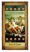 Ten of Coins Tarot card in Sacred Art Tarot deck
