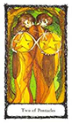 sacred-rose - Two of Pentacles