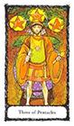 sacred-rose - Three of Pentacles