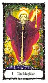The Magician Tarot Card - Sacred Rose Tarot Deck