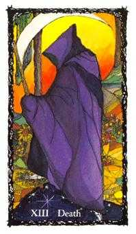 Death Tarot Card - Sacred Rose Tarot Deck