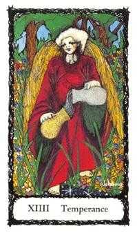 Temperance Tarot Card - Sacred Rose Tarot Deck
