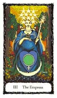 The Empress Tarot Card - Sacred Rose Tarot Deck