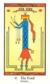 The Fool Tarot Card - Santa Fe Tarot Deck