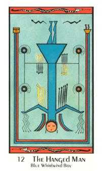The Hanged Man Tarot Card - Santa Fe Tarot Deck