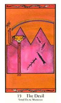 The Devil Tarot Card - Santa Fe Tarot Deck