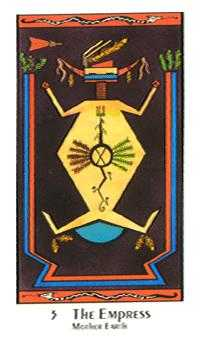 The Empress Tarot Card - Santa Fe Tarot Deck