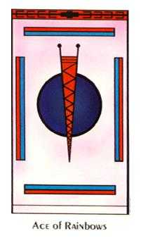 Ace of Wind Tarot Card - Santa Fe Tarot Deck