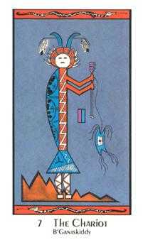 The Chariot Tarot Card - Santa Fe Tarot Deck
