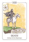 Death Tarot card in Simplicity deck