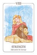 Strength Tarot card in Simplicity deck