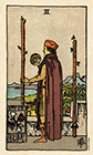 smith-waite - Two of Wands
