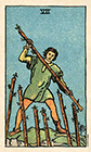 smith-waite - Seven of Wands