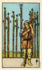 smith-waite - Nine of Wands