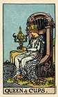 smith-waite - Queen of Cups