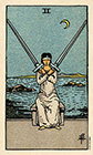 smith-waite - Two of Swords
