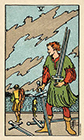 smith-waite - Five of Swords