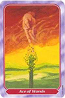 spiral - Ace of Wands