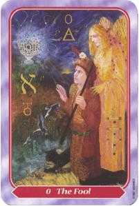 The Fool Tarot Card - Spiral Tarot Deck