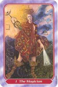 The Magus Tarot Card - Spiral Tarot Deck