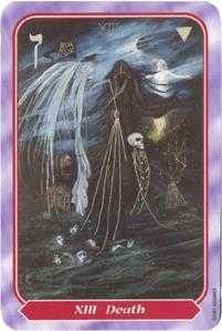 Death Tarot Card - Spiral Tarot Deck