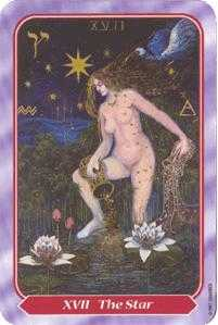 The Star Tarot Card - Spiral Tarot Deck