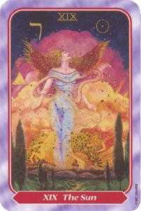 The Sun Tarot Card - Spiral Tarot Deck