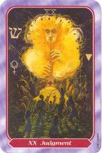 Judgment Tarot Card - Spiral Tarot Deck