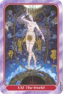 The Universe Tarot Card - Spiral Tarot Deck