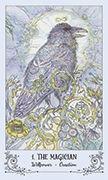 The Magician Tarot card in Spiritsong deck