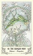 The Hanged Man Tarot card in Spiritsong deck