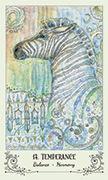 Temperance Tarot card in Spiritsong deck