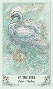 The Star Tarot card in Spiritsong deck