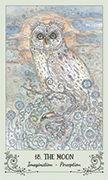 The Moon Tarot card in Spiritsong deck