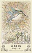 The Sun Tarot card in Spiritsong deck