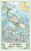 The World Tarot card in Spiritsong deck