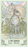 The Empress Tarot card in Spiritsong deck