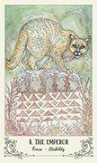 The Emperor Tarot card in Spiritsong deck