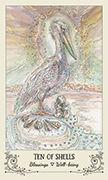 Ten of Shells Tarot card in Spiritsong deck