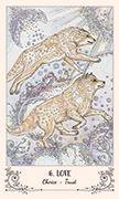 The Lovers Tarot card in Spiritsong deck