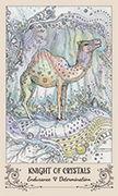 Knight of Crystals Tarot card in Spiritsong deck